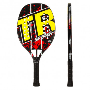 Beach Tennis Racket Top Ring SKETCH RED 2020