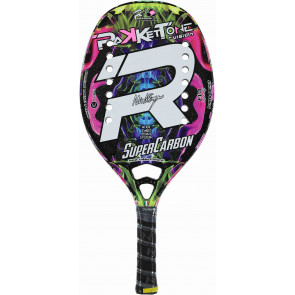 Racchetta Beach Tennis Rakkettone SUPER CARBON 2019