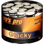 Overgrip Pros Pro GTacky White 60 pieces